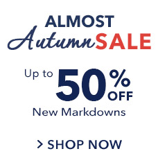 Up to 50% Off Almost Autumn Sale