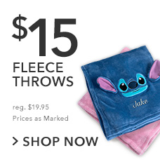 $15 Fleece Throws