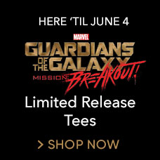 Guardians of the Galaxy Limited Release Tees