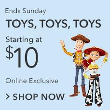 Toys Starting at $10