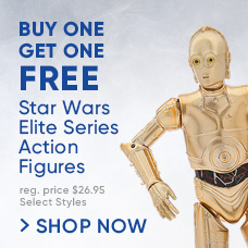 Buy One, Get One Free! Star Wars Elite Series Die Cast Action Figures