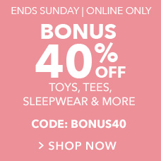 Bonus 40% Off with CODE: BONUS40