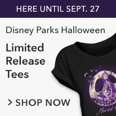 Disney Parks Halloween Limited Release Tees