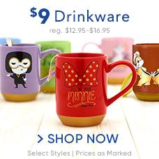 $9 Drinkware
