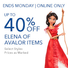Up to 40% Off Elena of Avalor