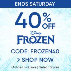 40% Off Frozen | CODE: FROZEN40