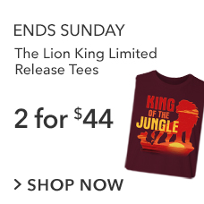 The Lion King Limited Release Tees