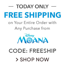 Free Shipping on Your Entire Order with any Moana Purchase | CODE: FREESHIP