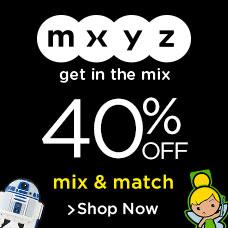 MXYZ 40% Off