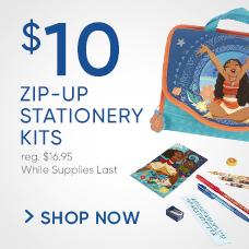 $10 Zip-Up Stationery Kits