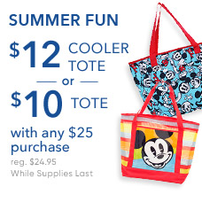 Summer Fun $10 Tote or $12 Cooler Tote with any $25 Purchase