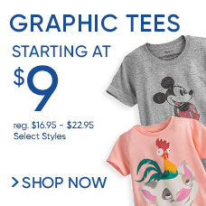 Graphic Tees Starting at $9
