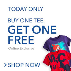 Kids & Adults Tees & Tops! Buy One, Get One Free