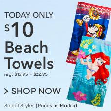 $10 Beach Towels