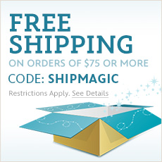 Free Shipping on orders of $75 or more - CODE: SHIPMAGIC