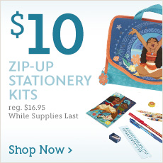 $10 Zip-Up Stationery Kits - reg. $16.95 - While Supplies Last - Shop Now