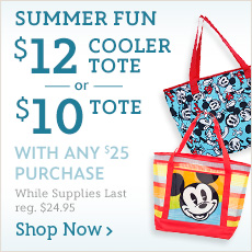 Summer Fun $12 Cooler Tote or $10 Tote with any $25 Purchase - reg. $24.95 - While Supplies Last - Shop Now