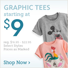 Graphic Tees - Starting at $9 - reg. $16.95-$22.95 - Select Styles - Shop Now